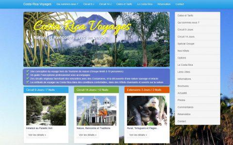 Agence de voyage pour le Costa Rica