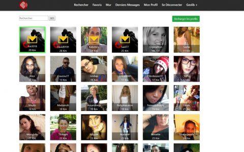 Geolib : Site et application de rencontre