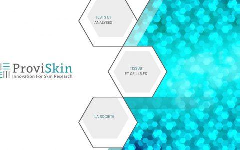 Proviskin : Site basé sur la recherche médicale